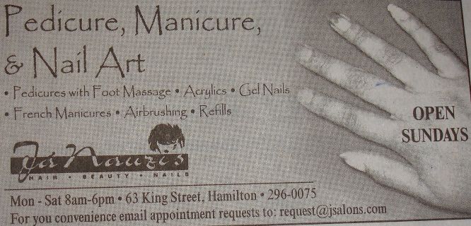 Ja Nauzi's Hair Salon - Nail Art Manicures Pedicures Airbruching and more for your beauty needs.